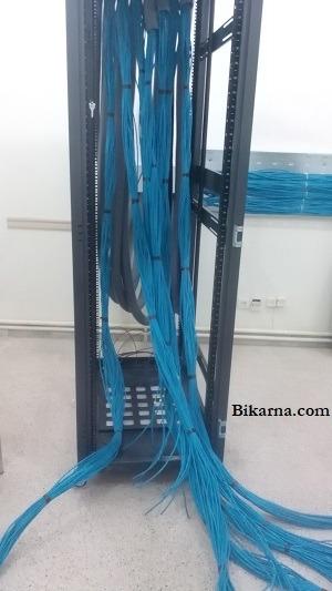 آرایش رک شبکه- پسیو کاری شبکه