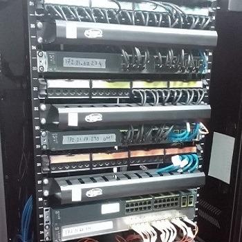 اجزای شبکه-رک