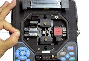 ابزار فیبر نوری دستگاه فیوژن