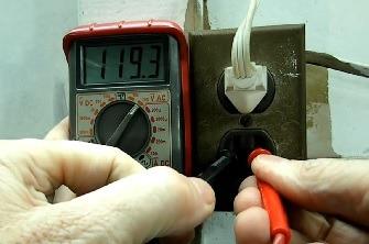 شناخت مولتی متر دیجیتال و نحوه ولتاژ گیری AC