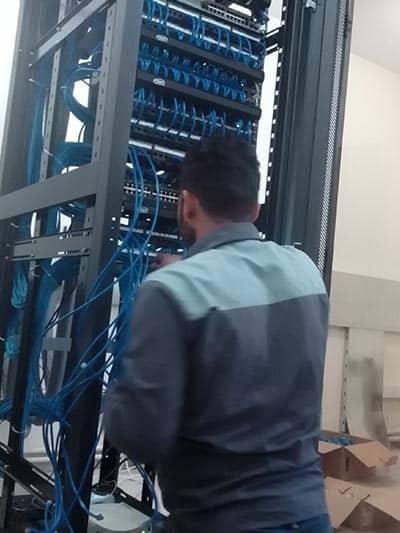 انجام خدمات پسیو شبکه در مشهد