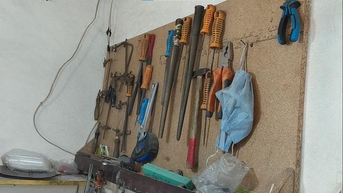 ابزار آلات مورد نیاز برای کار انگشتر سازی نقره